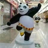 广州商场玻璃钢卡通熊猫雕塑