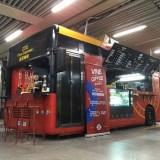 玻璃钢巴士售卖车车模