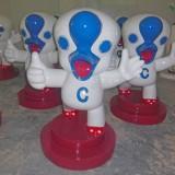 澄海吉祥物玻璃钢卡通雕塑迎来小成员