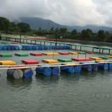 惠州水上乐园玻璃钢浮板已装好你敢来挑战吗?