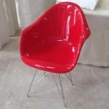 海南玻璃钢休闲靠背椅