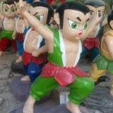 海南玻璃钢葫芦娃雕塑