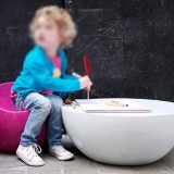 天津玻璃钢休闲坐凳