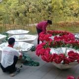 广西玻璃钢户外景观花盆