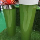 天津玻璃钢艺术花器定制