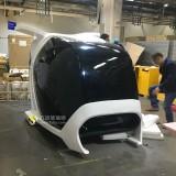 飞船造型玻璃钢VR设备外壳富士康量身定做