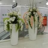 江苏商场玻璃钢组合花瓶
