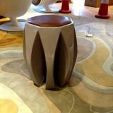广西玻璃钢八角创意休闲凳