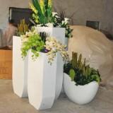 广州商场玻璃钢组合花盆