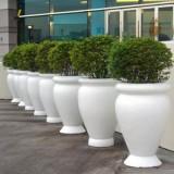 广州玻璃钢广场绿化花盆