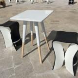 海南高档酒店玻璃钢组合桌椅户外景观休闲新选择