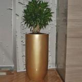 广州室内玻璃钢花钵定制