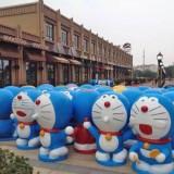 广州玻璃钢机器猫雕塑定制厂家