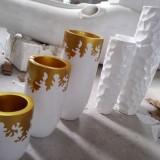 广州室内玻璃钢组合花瓶