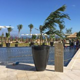 海南七星酒店玻璃钢创意定制花盆
