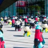 广州玻璃钢商场美陈展览雕塑