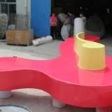广州玻璃钢商场时尚沙发