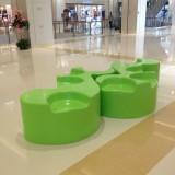 海南商场玻璃钢创意休闲椅