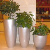 广州玻璃钢落地式组合花瓶