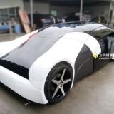 方圳玻璃钢概念跑车专业定制亮相国外车展