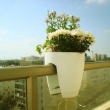 海南玻璃钢阳台悬挂花盆