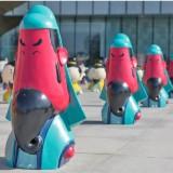 广州玻璃钢广场雕塑摆件