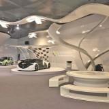 定做玻璃钢车模闪亮登场哈萨克斯坦国际车展