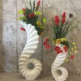 海马造型玻璃钢花盆