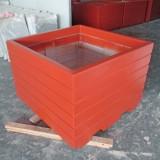 北京玻璃钢制品厂仿木花盆