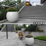 北京玻璃钢制品厂定制花盆