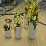 安丘商场玻璃钢组合花瓶定制
