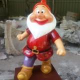 枣强玻璃钢圣诞小矮人雕塑