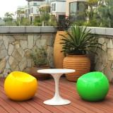 江西玻璃钢苹果凳造型