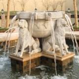 辽宁玻璃钢喷泉花盆