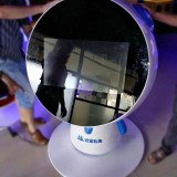 上海多媒体教育平台玻璃钢触摸屏一体机外壳