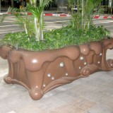 河北玻璃钢创意花盆