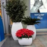 贵州玻璃钢商场组合花盆