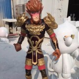 江苏玻璃钢动漫人物雕塑