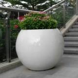 重庆玻璃钢圆形花盆