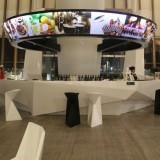 安徽玻璃钢酒店大型接待台