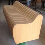 贵州玻璃钢仿木沙发