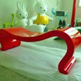 云南玻璃钢M造型座凳