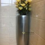 玻璃钢电镀花瓶装饰广西南宁商场