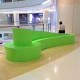 安徽玻璃钢商场休闲椅