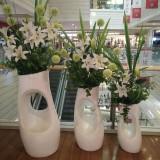 玻璃钢艺术花器让广州商场端午佳节更具特色