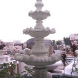 湖北玻璃钢广场喷泉花盆