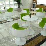 贵州玻璃钢时尚组合桌椅