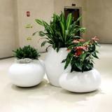 宁夏商场玻璃钢组合花盆