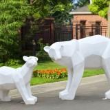 新疆玻璃钢钻石切面雕塑