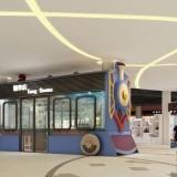 玻璃钢火车模型雕塑造型深圳金沙童话DP点美陈